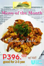 Menu of the Month